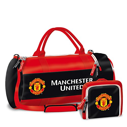 Manchester United Sporttasche Reisetasche Fußballtasche 55x28x28cm EDEL