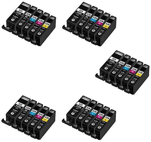 Prestige Cartridge PGI-525/CLI-526 25 Cartucce d