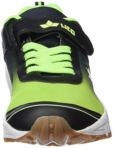 Lico Barney Vs, Chaussures Multisport Indoor garçon Noir - Schwarz (schwarz/gruen)