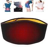 HURRISE Hüftgürtel, Wärmetherapie für unteren Rücken, Schmerzlinderung im unteren Rücken, Muskelkrämpfe, Zerrungen, Ischias, Skoliose, Bandscheibenvorfall, geeignet für Männer und Frauen