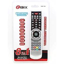 MANDO A DISTANCIA PARA TV TELEVISION 8 EN 1 DVB DVD CD TUNER TAPE VCR AUX