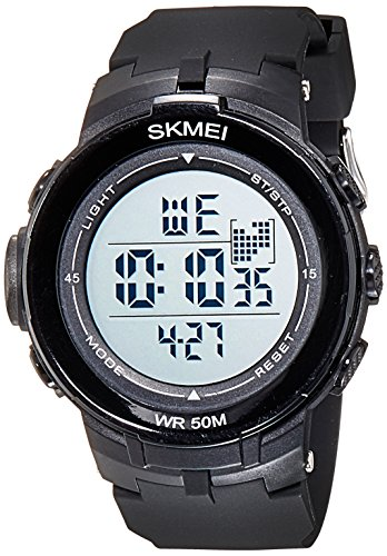Skmei Digital Multi-Colour Dial Unisex Watch - 1127BBW
