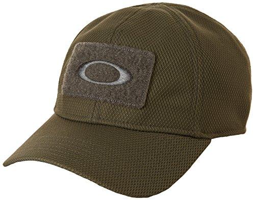 Oakley SI Gorra, Color Verde - Verde, tamaño L/XL