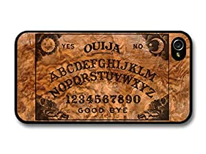 Ouija Board Horror Cool Funny Design On Wood Effect coque pour iPhone 4 4S