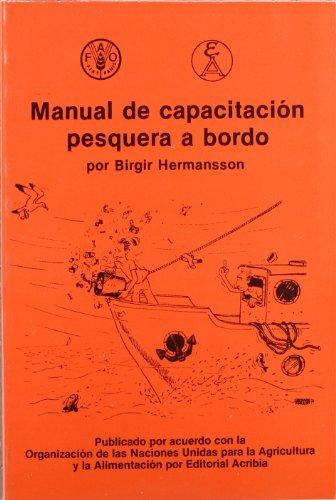 MANUAL DE CAPACITACION PESQUERA A BORDO