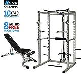 Estante de la energía RynoTM agaches jaula peso banco paquete combinado máquina acercad Multi Gym