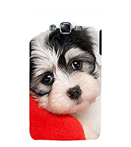 printtech Cute Dog Back Case Cover for Samsung Galaxy Grand 3 G720 / Samsung Galaxy Grand Max G720