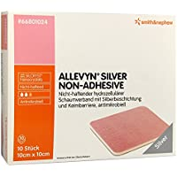 Allevyn Silver non Adhesive 10x10 cm Verband, 10 St preisvergleich bei billige-tabletten.eu