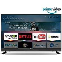 RCA 108 cm (43 inch) Full HD Smart LED TV 43WR1901S (Black) (2019 Model) | with Quantum Backlit Technology