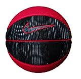 Nike Mini Black Red Basketball Grey Tick Rubber NBA Training Small Size 3