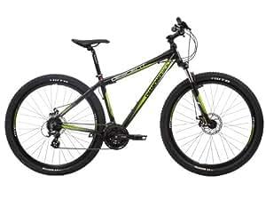 Diamondback Men's Descent Mountain Bike - Black and Green, 20 Inch
