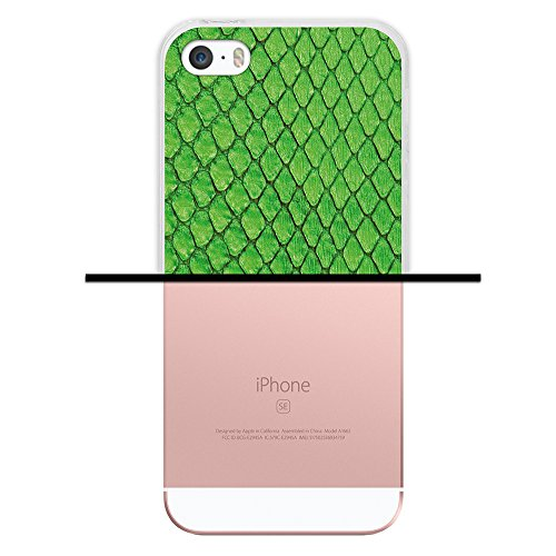 iPhone SE iPhone 5 5S Hülle, WoowCase Handyhülle Silikon für [ iPhone SE iPhone 5 5S ] Holzwand Handytasche Handy Cover Case Schutzhülle Flexible TPU - Transparent Housse Gel iPhone SE iPhone 5 5S Transparent D0514