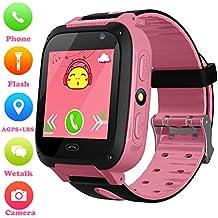 aa5b2f05969b2 ... cámara SLR infantil más genial del mundo con pantalla ... Niños  Smartwatch - Localizador de posición GPS LBS Reloj de Alarma SOS Infantil  Relojes de