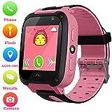 Girls Boys Smartwatch - AGPS/LBS Position Tracker Child SOS Alarm Clock Wrist Watches