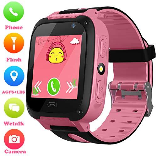 Niños Smartwatch - Localizador de posición GPS/LBS Reloj de Alarma SOS Infantil...