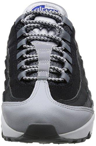Nike Herren Men's Nike Air Max 95 Essential Shoe Hallenschuhe Mehrfarbig (Wolf Grey/Game Royal-Black-Dark Grey) EZ0N1