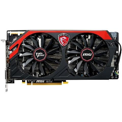 Msi R9 280 GAMING 3G - Tarjeta gráfica (Radeon R9 280, 3 GB GDDR5)
