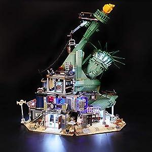 BRIKSMAX Kit di Illuminazione a LED per Lego Apocalypseburg, Compatibile con Il Modello Lego 70840 Mattoncini da… Kit illuminazione LEGO