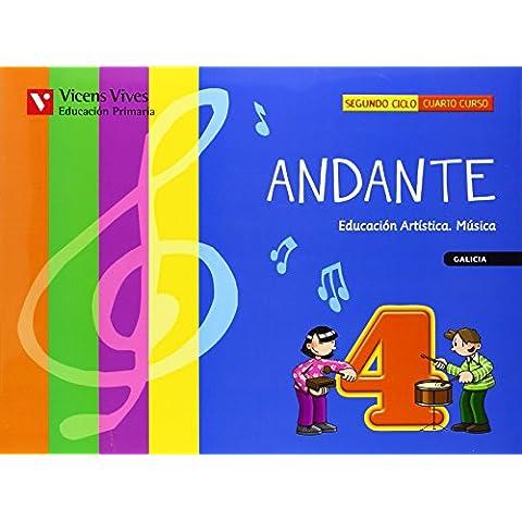 Andante 4. Galicia. Libro (+CD)