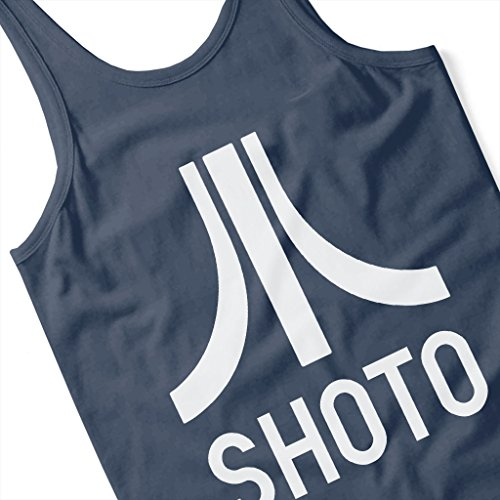 Cloud City 7 Shoto Atari Logo Ready Player One Women's Vest Navy blue