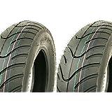KENDA K413 Roller Reifen Set Satz - Vorne + Hinten 120/70-12 + 130/70-12 Peugeot Speedfight 1 2 AC LC