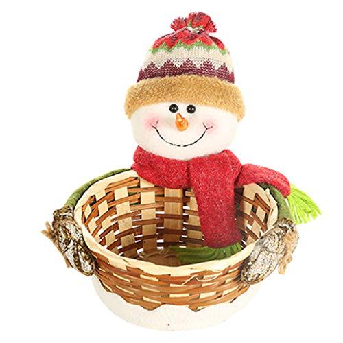 Caramelo Navidad Cesta almacenaje Cookies Soporte