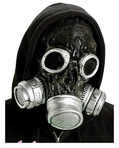 Horror-Shop Zombie Gasmaske ()