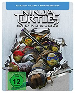 Teenage Mutant Ninja Turtles - Out of the Shadows - Steelbook [3D Blu-ray] [Limited Edition]