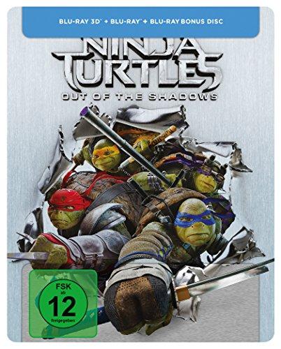 Teenage Mutant Ninja Turtles - Out of the Shadows - Steelbook [3D Blu-ray] [Limited Edition]