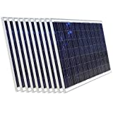 2000W 36V Solar Panel–12Stück 180W Solarmodule für 24Volt Akku Home Backup Power System