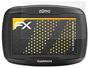 3 x atFoliX Screen Protector Garmin Zumo 390LM Screen Protection Film - FX-Antireflex anti-reflective