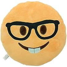 Cojín de emoticono carita sonriente, muñeca, caca, cara para decoración del hogar,