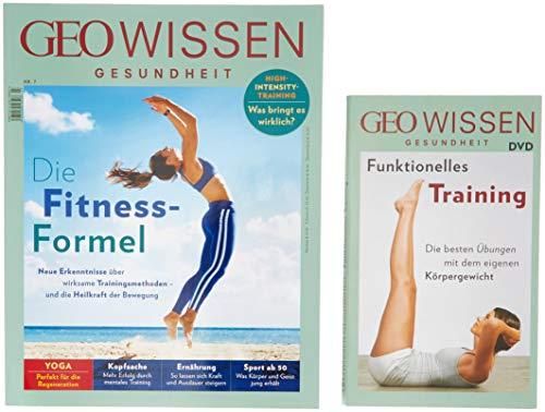 GEO Wissen Gesundheit / GEO Wissen Gesundheit mit DVD 7/18 - Die Fitness-Formel: DVD: Bodyweight Training - Die besten Übungen & Workouts mit dem eigenen Körpergewicht -