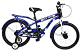 #10: MAD MAXX Steel Kids Humber 20T Road Cycle, 20 inches (Blue) For 7 to 9 Years Child