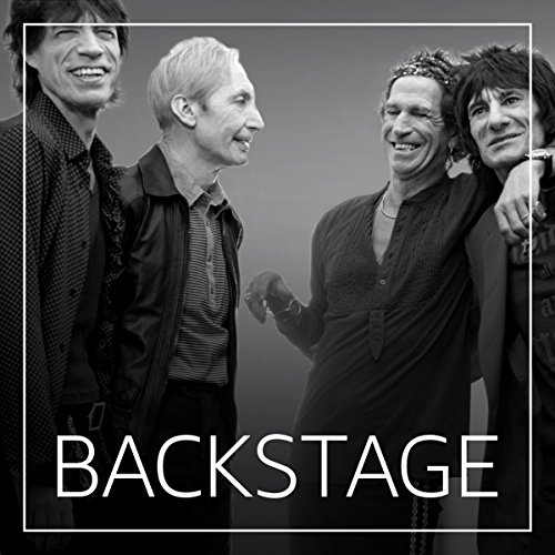 Backstage mit The Rolling Stones