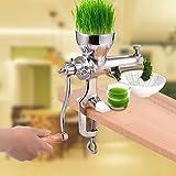 ZHAZHIQI Edelstahl Weizen Gras Weizengras Hand Hand Juicer Gesundheit Entsafter Werkzeug Küche...