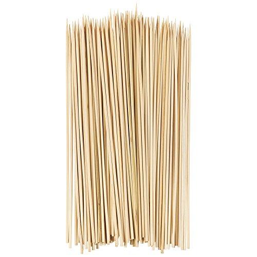 PROfreshionals Brochettes en bois de bambou - 25,4 cm