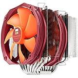 TR Silver Arrow IB-E Extreme Multiple Heatpipe Kühler für Intel LGA 775/1155/1156/1366/2011/1150/2011-3 und AMD AM2(+)/AM3(+)/FM1/FM2(+), 2 x TY 143 (600 - 2.500 U/Min, 21 - 45 dB(A), 54 - 221 m³/h)