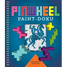 Pinwheel Paint-doku by Conceptis Puzzles (2016-04-05)