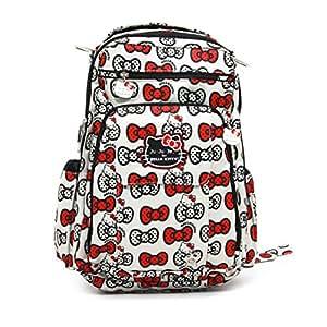Ju-Ju-Be Be 14bp01hk-Hpk-No Size Be Right Back Hello Kitty–Sac à langer, sac à langer, 30,5x 13x 40,5cm, Peek A Bow