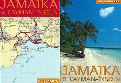 Jamaika und Cayman- Inseln. Reiseführer und Reisekarte