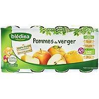 Blédina Fruits en Pots Pommes du Verger dès 4/6 Mois 8x130g -
