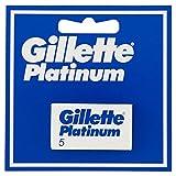 Gillette Lames de Rasoir 5 Cadres Platinum