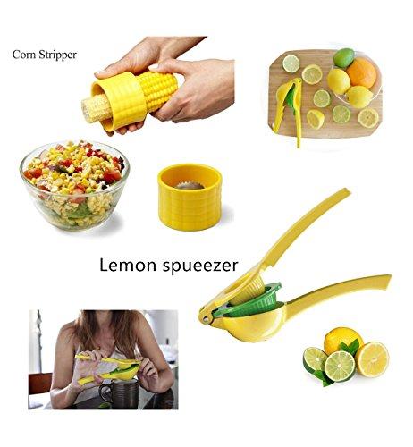 Manual 2 en 1 mano amarillo limón naranja zumo de...