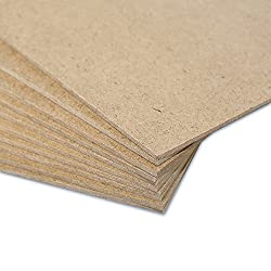 Creative Deco 10 x A4 MDF Board Sheet   300 x 210 x 3 mm   Perfect for Laser Cutting, CNC Router, Modelling, Fretwork, Scroll Saw