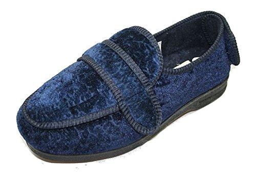 Microsuede Schuhe (Neue Damen neue Kühler CosyComfort orthopädische Hausschuhe 200 Navy UK4)