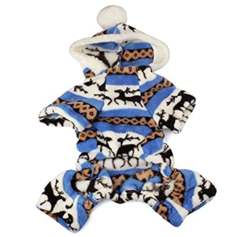 Pet Clothes,Ouneed ® Stylish Lovely Hoodie Jumpsuit for Pets Puppy