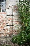 KUHEIGA Rankgerüst 10mm Volleisen Obelisk SCHWARZ H: 200cm