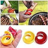 Ashley city 2pcs Barbecue Hot Dog taglierina affettatrice a spirale manuale salsiccia Cutter taglio strumento Gadget da cucina