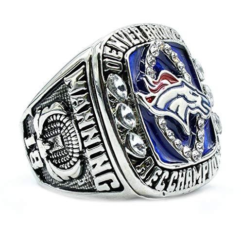 Herren Jahr 2013 Denver Broncos AFC Meisterschafts Ringe,Größe 70 ()